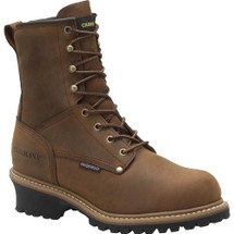 Carolina CA5821 Crazy Horse Steel Toe Insulated Logger Boots