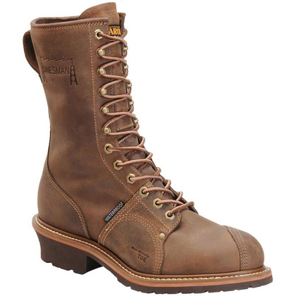 "Carolina CA904 10"" Soft Toe Waterproof Linesman Boots"