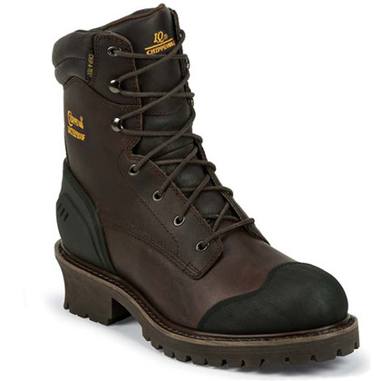 Chippewa 55053 Composite Toe Insulated Chocolate Logger Boots