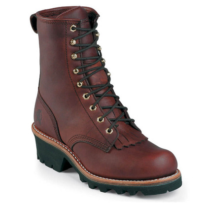 Chippewa Women's L73026 Soft Toe Redwood Non-Insulated Logger Boots