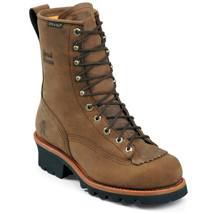 Chippewa 73101 Bay Apache Steel Toe Non-Insulated Logger Boots