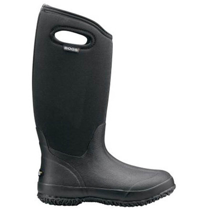 Bogs Women's Classic High Handle Black Boots