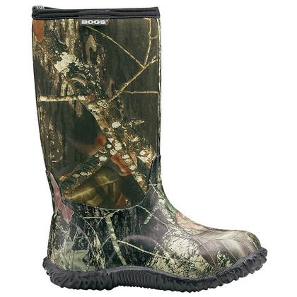 Bogs Kid's Classic High Mossy Oak Camo Boots
