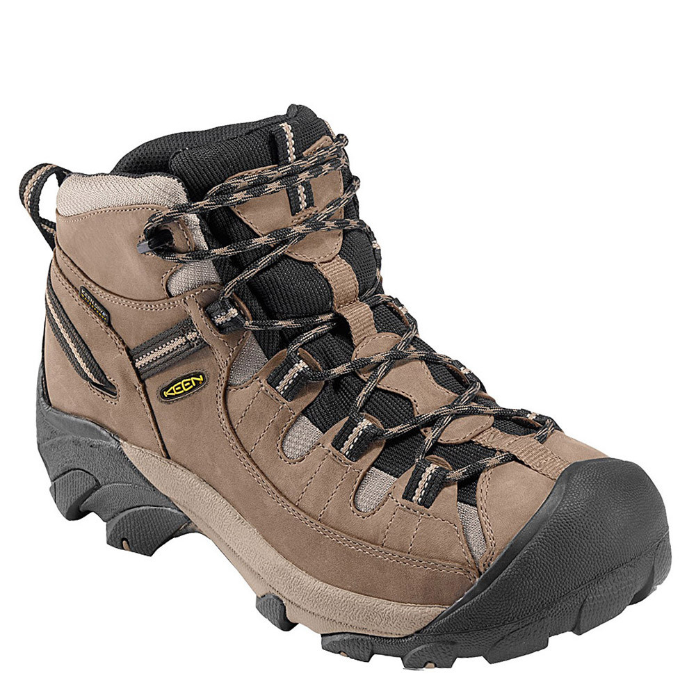 Men's Hiking Boots Shoes/KEEN Targhee II Mid ShitakeBrindle