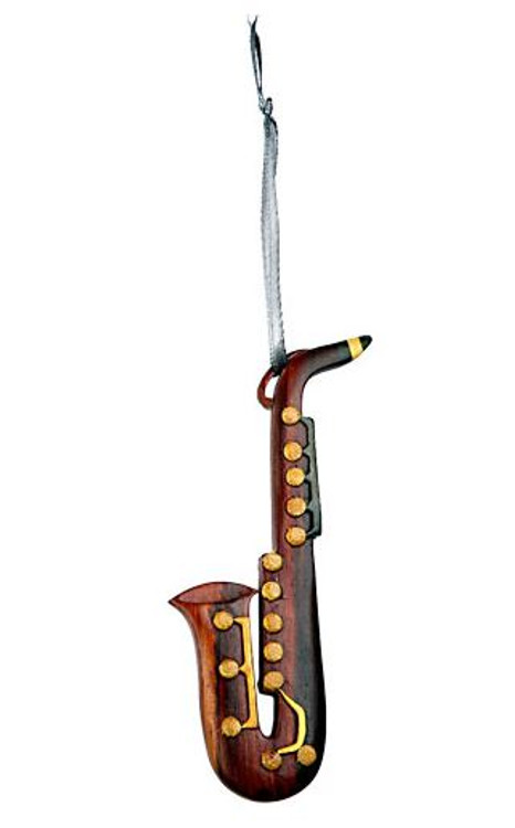 Ornament Wood Saxophone