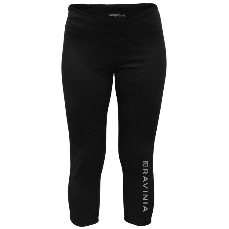 LADIES CAPRI PANTS BLACK