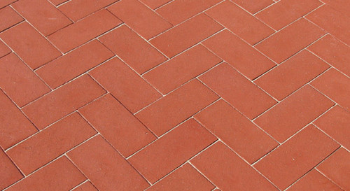 McNear Thin Brick Commercial Series Red Pavers