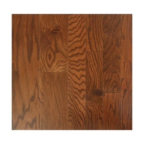 """Nuvelle American Collection Engineered Hardwood 5"""" Red Oak Chocolate"""