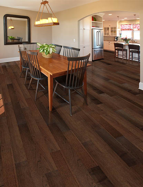 """Home Legend .6mm Collection Benson Hickory HDF 5"""" x up to 47 1/4"""" Hardwood"""