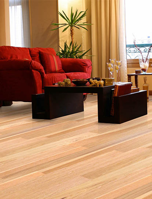 "Home Legend .6mm Collection Natural Hickory HDF 5"" x up to 47 1/4"" Hardwood"