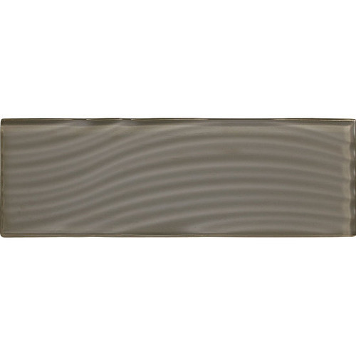 """American Olean Color Appeal Abstracts Mink 4"""" x 12"""" Glass Tile"""
