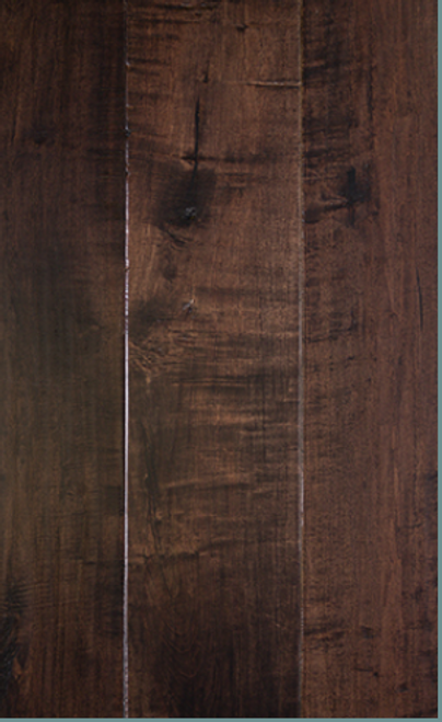"""Hill Country Innovations Caprock Handscraped Maple Bistre 1/2"""" x 7 1/2"""" Engineered Hardwood"""