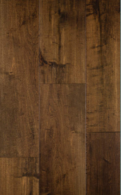 """Hill Country Innovations Caprock Handscraped Maple Mineral Gray 1/2"""" x 7 1/2"""" Engineered Hardwood"""
