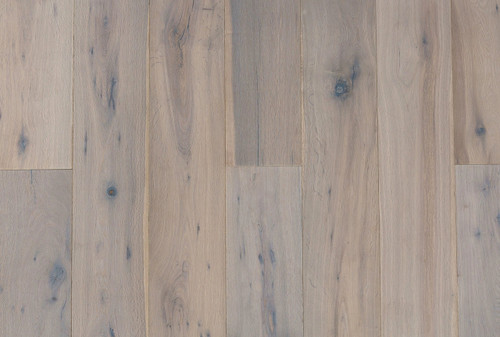 "DuChateau The Chateau Collection Antique White European Oak 5/8"" x 7 1/2"" Engineered Hardwood"