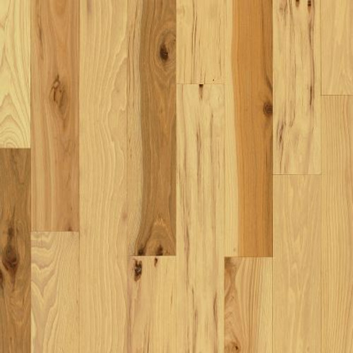 """Bruce American Treasures 5"""" Hickory - Country Natural Solid Hardwood"""