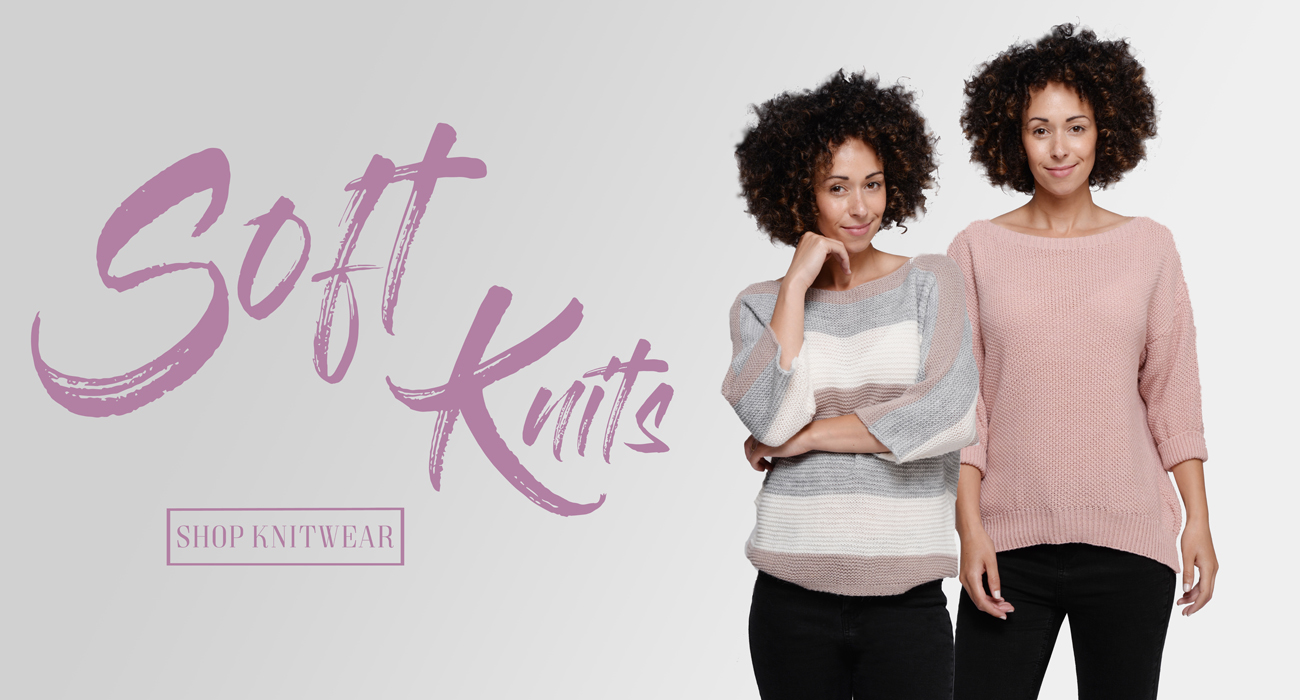 Soft ladies' knitwear, tops, and other clothes