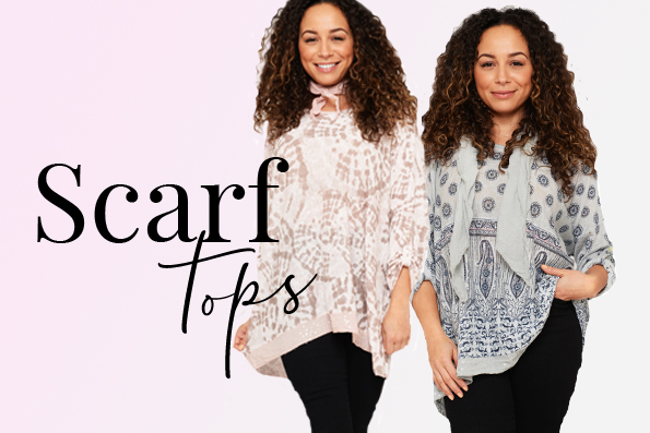 Ladies' Scarf Tops