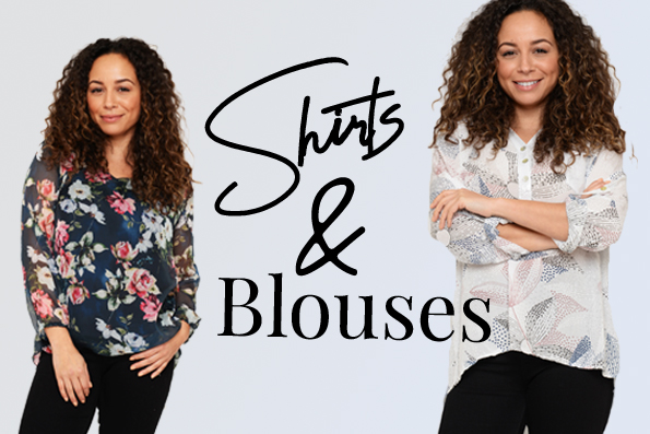 Ladies' Italian Tops, Shirts and Blouses