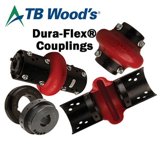 WE10HS2  Dura-Flex® Coupling Standard Bored Steel Hub
