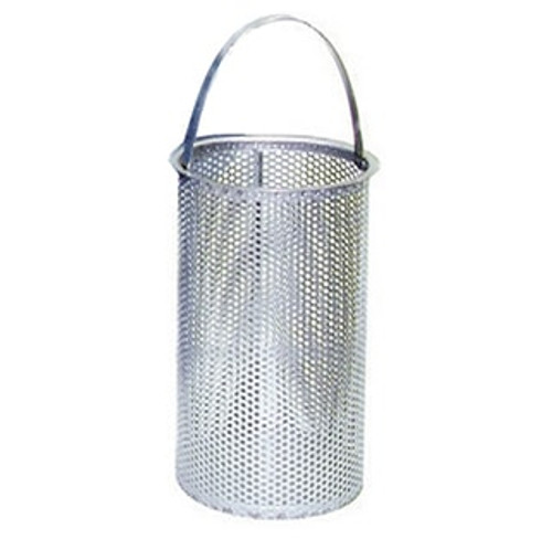 """80 Mesh with 5/32"""" Perforated Replacement Basket for 3"""" Eaton Model 53BTX Strainer"""