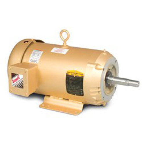 EM3615T, 5HP Three Phase Baldor Electric Compressor Motor 184JM (New)