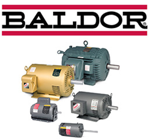EM3714T, 10HP Three Phase Baldor Electric Compressor Motor 215JM (New)