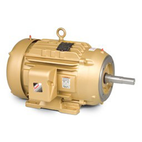 EM3665T, 5HP Three Phase Baldor Electric Compressor Motor 184T (New)