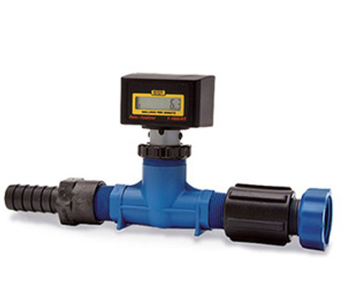 106608-2 Finish Thompson Factory Calibrated Flow Meter, FM-1000 Series