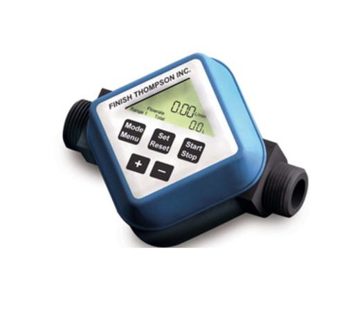 106609-3 Finish Thompson Batch Control User Adjusted Calibration Flow Meter, FMBC-2000 Series