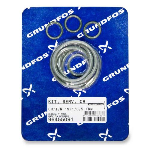 96455091, GRUNDFOS FKM Gasket Kit