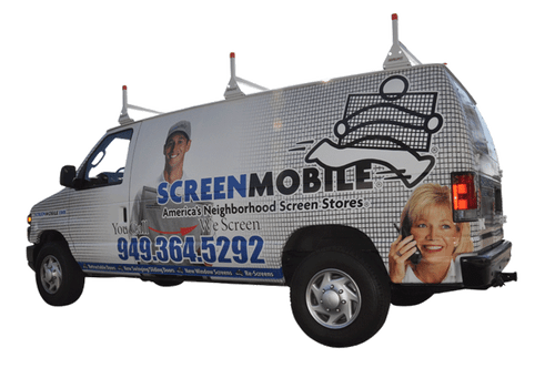 FORD VAN VEHICLE WRAP WITH CUSTOM GRAPHICS