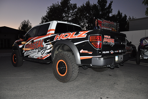 FORD RAPTOR GLOSS 3M VEHICLE WRAPS WITH CUSTOM DESIGN