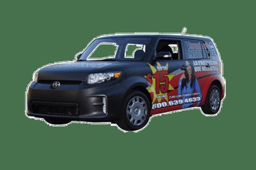2013 Toyota Scion XB 3M flat wrap for Veronicas Auto Insurance