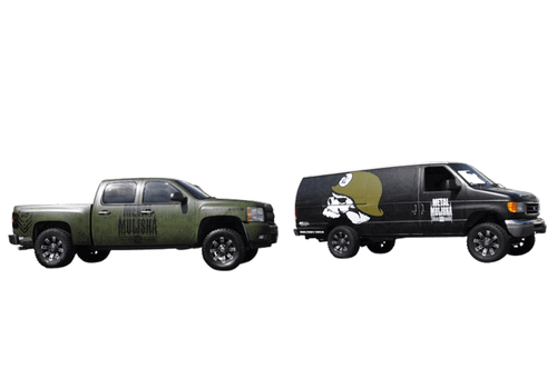 Offroad Truck Wrap 3M Flat For Metal Mulisha