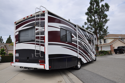 FORD 32' CLASS C MOTOR HOME GLOSS VEHICLE WRAPS WITH CUSTOM DESIGN