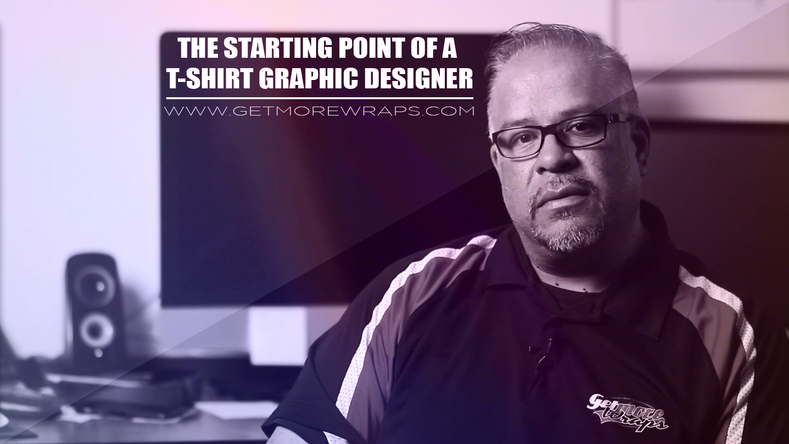 The Starting Point of a T-Shirt Graphic Designer