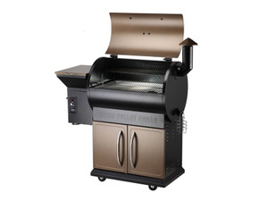 Direct Wicker Z Grills Upgrade Deluxe Wood Fired Pellet Outdoor 8 in 1 BBQ Smokers