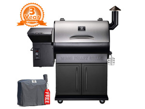 Direct Wicker Z GRILLS 2018 New Model ZPG-700E 8 in 1 BBQ Auto Temperature Control