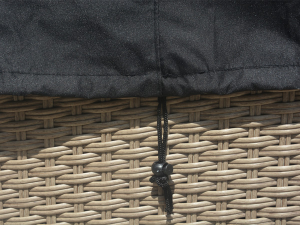 Direct Wicker Carlo Three Seat Sofa Set Cover,L 88.19'' x D 32.68'' x H 23.62'' - 33.07''