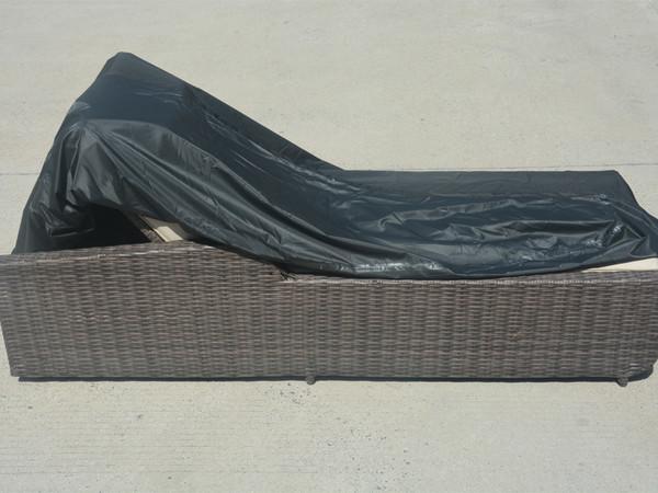 Direct Wicker Patio Lounge Chair  Rain Cover,L 66.14'' x W 35.43'' x H 14.96'' - 33.07''
