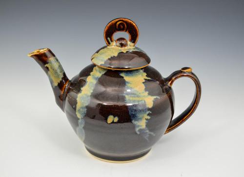 Brown Asian look Teapot