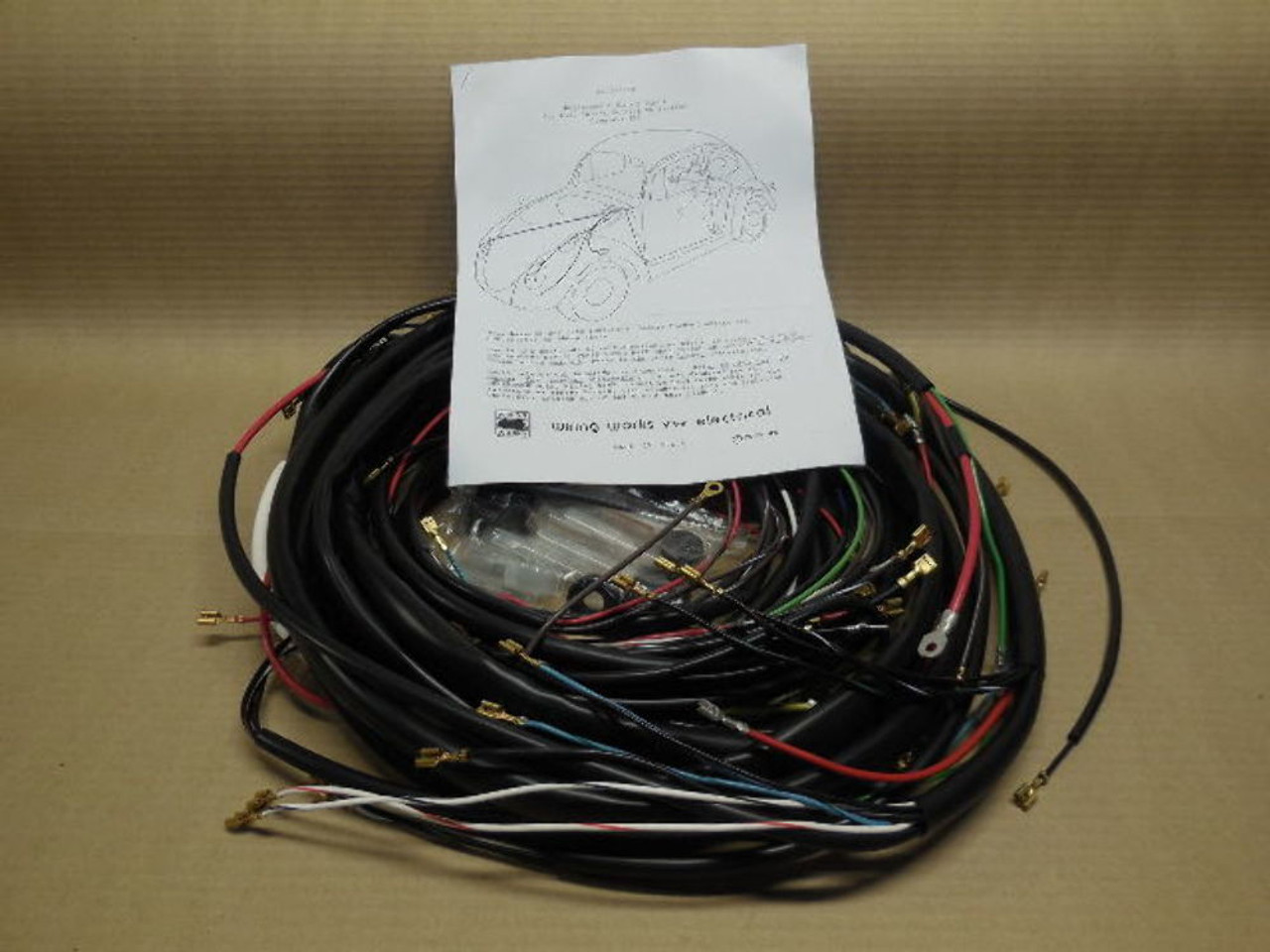 1967 Vw Wiring Harness - Diagrams Catalogue