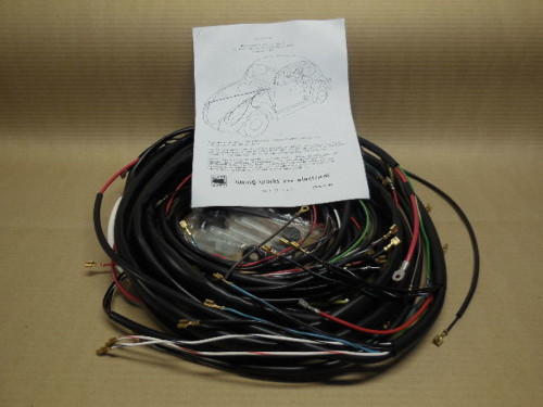 1972 (73-77 dual carb cnv) vw type 2 (all) wiring works ... vw bus main wiring harness main wiring harness #14