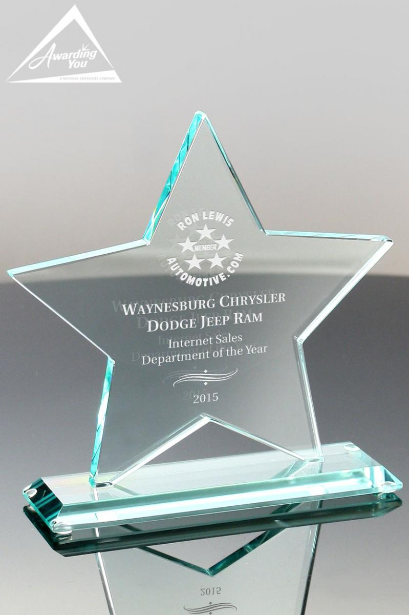 dealer and vendor awards ideas and wording