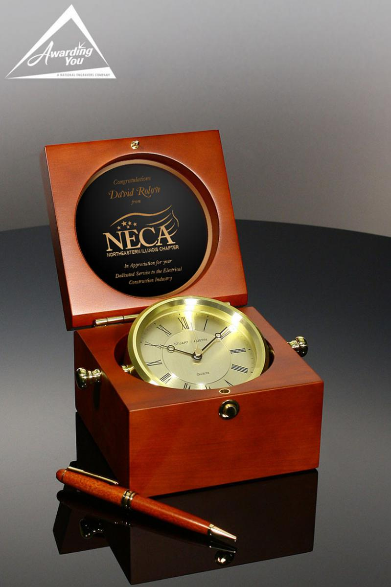 The Captain's Clock is a popular appreciation gift