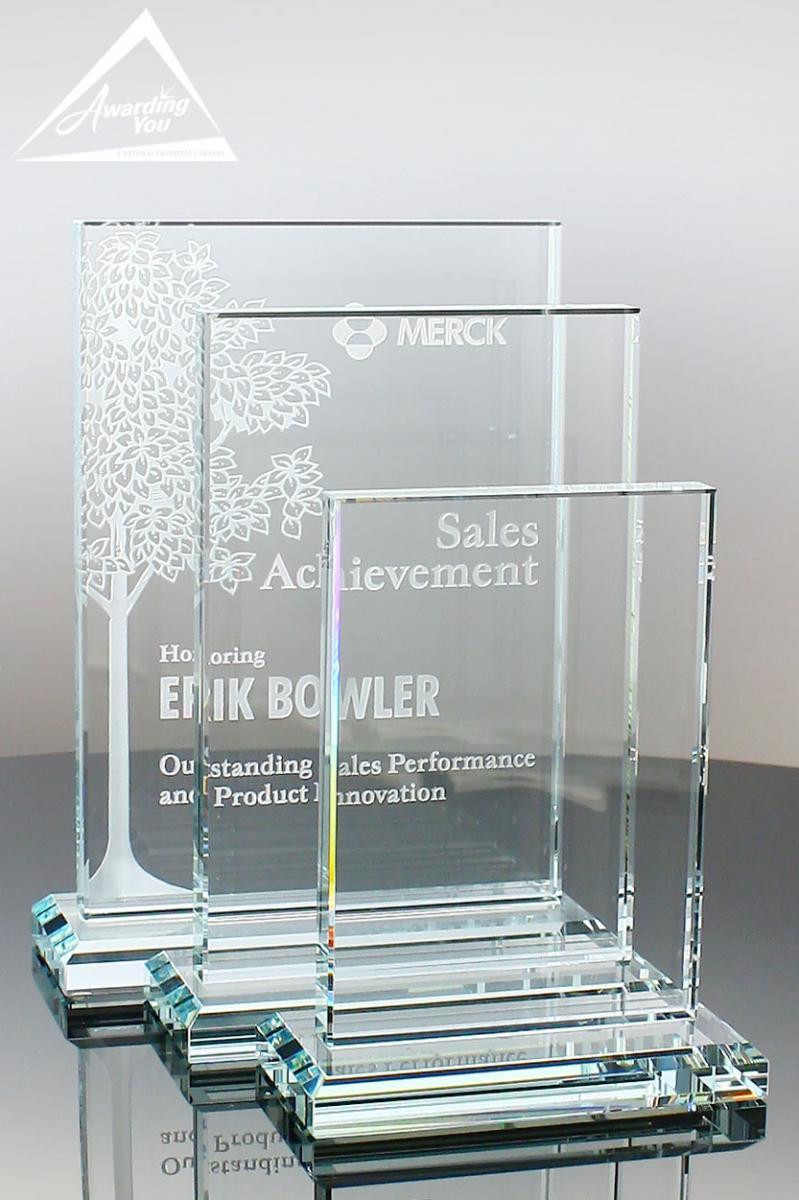 Show Appreciation with the Right Angle Glass Award