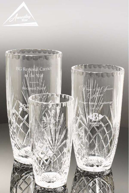 Remington Crystal Vase Family View