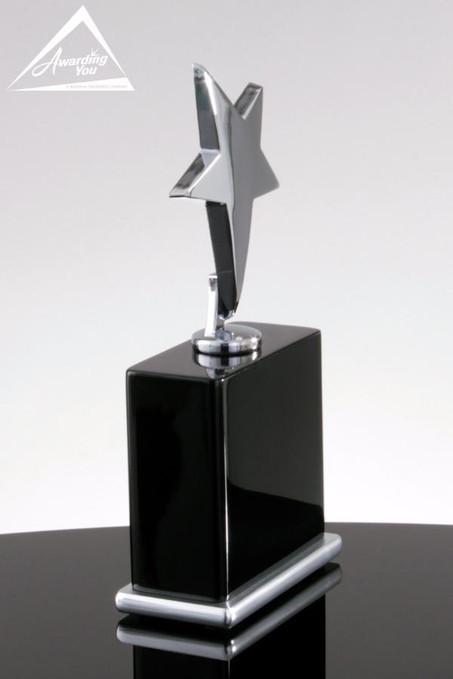 Silver Star Trophy Award