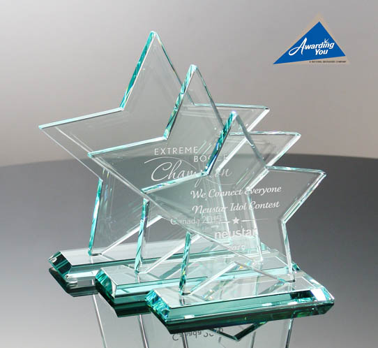 Our Most Popular Star-Shaped Awards