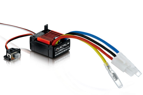 Hobbywing Quicrun 1060 Brushed ESC 60 Amp  Water Proof (30120201)